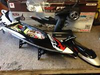 Rc brushless racing speed boat very fast