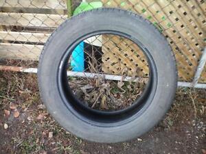 1 Dunlop Grandtrek ST30 Tire * 225 60R18 100H * $30.00 .  M+S / All Season Tire ( used tire )