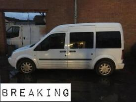 Ford tourneo connect breaking wings doors bonnet glass etc
