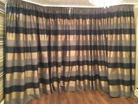 Curtains made by Laura Ashley
