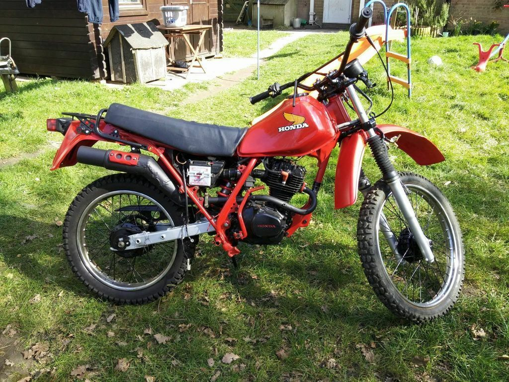 honda xl 125 rc in bury st edmunds suffolk gumtree. Black Bedroom Furniture Sets. Home Design Ideas