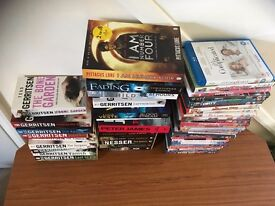 joblot of books and dvd,s