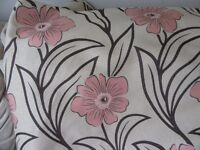 8 metres good quality curtain fabric