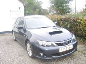 Subaru impreza wrx , 59 plate