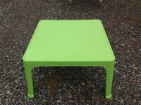Large Green Plastic Play Table