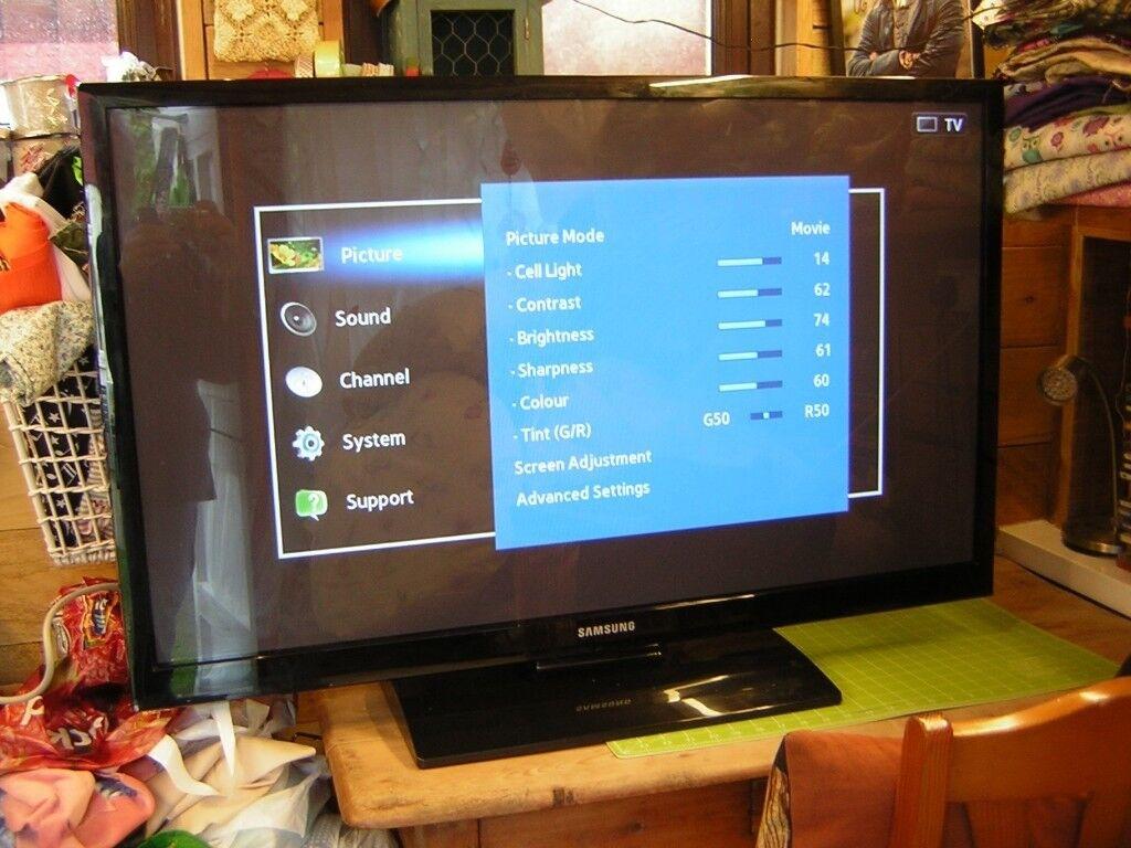 Samsung PS43E450 Flat screen TV | in Lincoln, Lincolnshire | Gumtree