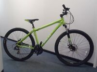 "Raleigh Designed MTRAX Graben - 18"" Hydroform Frame/Dual Disc/29"" wheels/Frnt Susp - RRP £390"