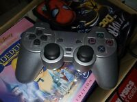 PlayStation 2 Controller - Silver Great Condition PS2