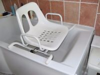 BATH SEAT SWIVEL STYLE AS NEW CONDITION CAN DELIVER
