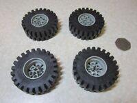 Large Vintage Lego Technic Wheels