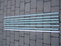 6X BNIB Sylvania Luxline Cool White Dlx Striplight Tubes.