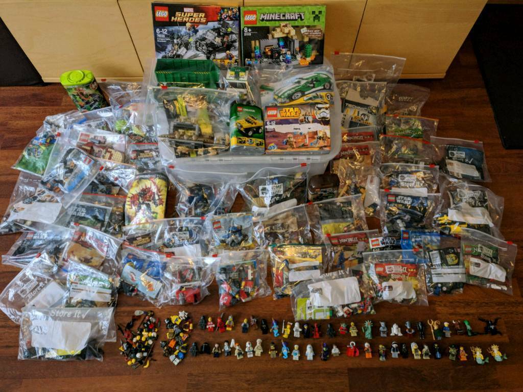 Huge Lego Job Lot with Mini Figures