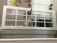 Shaker Solid Internal Door Glass door 32X79 Inch (Used but Very good condition)