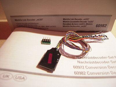 Märklin H0 60982 Digital - Lok Decoder mLD3 8 pol Kabelbaum mfx MM1 MM2 DCC neu online kaufen