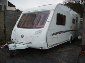 2006 Swift Challenger 530 touring caravan. Very good condition. alloy wheels. Alco wheel lock and