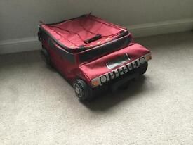 Hummer kids suitcase