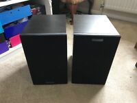 Nearly new Mission LX2 speakers
