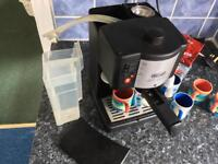Brilliant Espresso Machine with Whittards Cups Included!