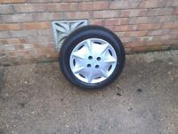 4 wheels tyres and trims