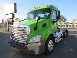 2013 Freightliner Cascadia TriAxles Super Single