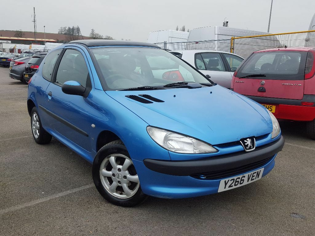 2001 peugeot 206 1 9 d lx diesel long mot panoramic roof alloy wheels cheap runabout corsa focus. Black Bedroom Furniture Sets. Home Design Ideas
