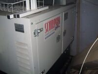 Scorpion Generator - Selling for £4,000 - 7.5KVA, 6KW, 230V, 50Hz, genarator, generatar