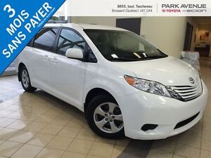2016 Toyota Sienna LE 8 PASSAGERS, BLUETOOTH, CAMERA DE RECUL, P