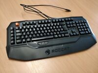 Roccat Ryos MK - Mechanical Keyboard - Cherry MX Black Switches