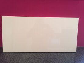 White high gloss kitchen cabinet doors
