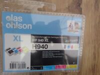 4 HP 940 XL Ink Cartridges