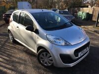 2013 Peugeot 107 Access -1.0 Petrol - Silver - Low 15703 miles - £0Road Tax - F/S/H - P/X Welcome
