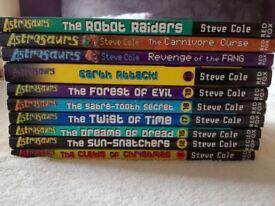 Astrosaurs books x 10