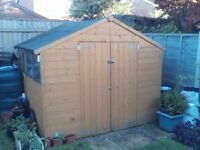 Large 7' x 8' Garden Shed