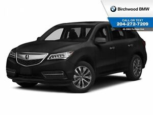 2014 Acura MDX Tech Pkg Remote Starter! Local Car 1 Owner! Clean