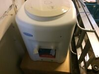 Avalanche table top Water Cooler with mains conection or can use with bottle