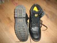 Mens Caterpillar work boots size 12.
