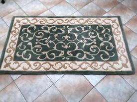 Small Persian 100% Wool Rug for sale