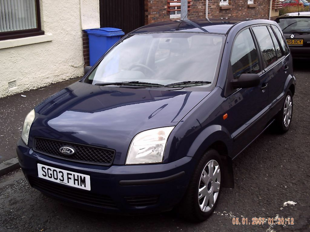 2003 03 ford fusion 1 4 5dr only 55600 miles mot july 2016 in ayr south ayrshire. Black Bedroom Furniture Sets. Home Design Ideas