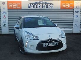 Citroen DS3 BLACK AND WHITE (WOW FACTOR) FREE MOT'S AS LONG AS YOU OWN THE CAR!! (white) 2010