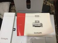 Lexmark 5400 series printer scanner copier and fax with instruction