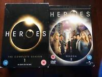 DVD - Heroes - Season 1 & 2