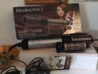 REMINGTON KERATIN THERAPY VOLUME AND BOUNCE 2 WAY ROTATING AIR STYLER