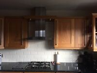 KITCHEN UNITS ,WORK TOPS AND SINK WITH TAP