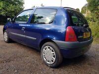 Renault Clio, 12 month MOT, service history