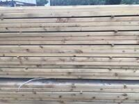 Timber rails c16 pressure treated green