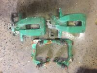 *** Skoda VRS 256mm x 22mm Brake Calipers And Carriers Mk2 Golf Conversion *** £120