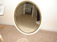 Old Oval Shaped Mirror