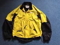 Men's ALTURA Night Vision Cycling Jacket Hi Viz Yellow Size L