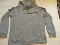 Select ladies light jumper grey size 14 good condition £4