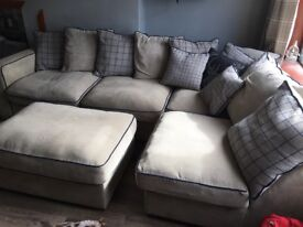 Corner sofa, only 2 years old. Great condition.